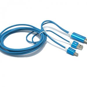 HDTV kabal S-M09 za Samsung S3-S4-NOTE2-NOTE3 (MHL to HDMI) plavi