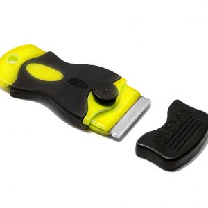 Plasticni nozic za skidanje stakla Sunshine zuti