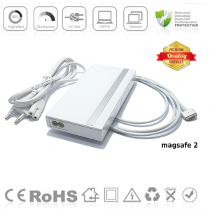 Punjac za Apple MagSafe 2 16.5-18.5V slim beli AP2UMS2