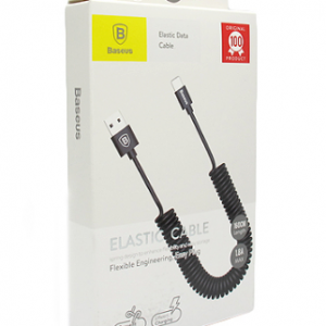 USB data kabal BASEUS ELASTIC lightning crni 2