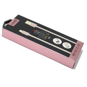 USB data kabal LDNIO LS24 microUSB 1m zlatni 2
