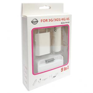 Univerzalni punjac za Iphone 4-4S 5in1 2
