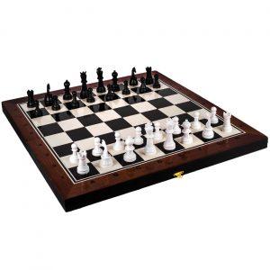 Šah i Backgammon drveni 37x19cm 2