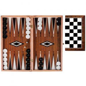 Šah i Backgammon drveni 37x19cm