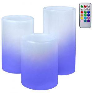Sveće sa RGB LED svetlom