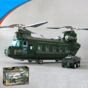 Veliki LEGO Vojni helikopter transporter
