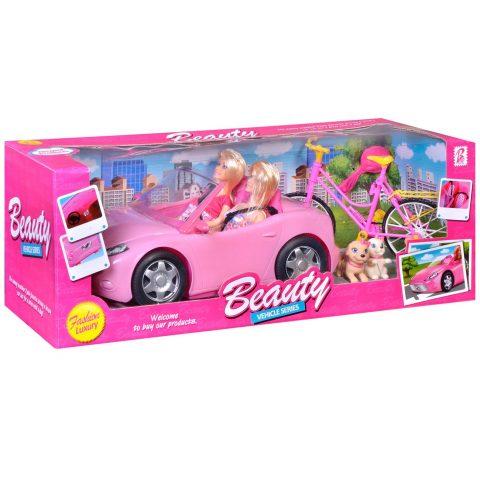 Barbike u kabrioletu