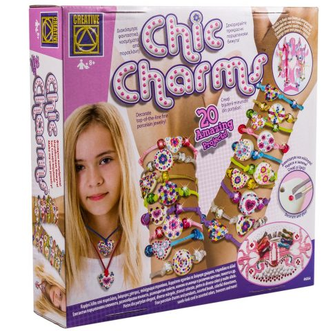 Chic Charms - set za pravljenje ogrlica i narukvica