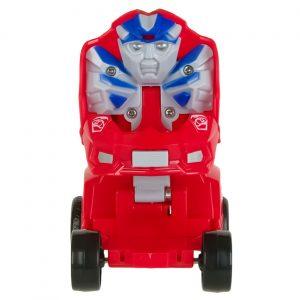 Crveni robot automobil - 6 cm 2