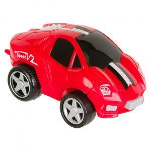 Crveni robot automobil - 6 cm