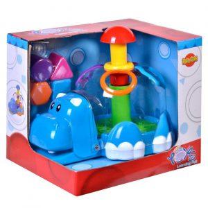 Edukativna igračka - Nilski konj sa različitim oblicima