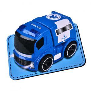 Edukativna igračka - Policijski kamion 2