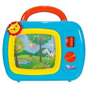 Igračka za bebe TV plavi Lav