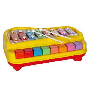 Ksilofon sa dirkama - Edukativna igračka za bebe