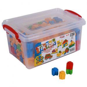 Kutija sa kockicama - 230 kom