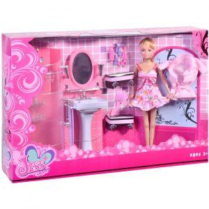 Lutka i kupatilo set