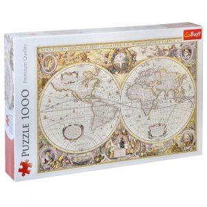 Mapa sveta - 1000 puzli