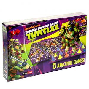 Nindža kornjače - 5u1 društvene igre