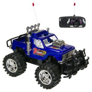 Off road Jeep na daljinsko upravljanje - 19 cm plavi
