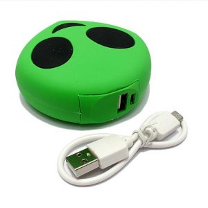 Power Bank EMOJI 2200mAh alien zeleni 2