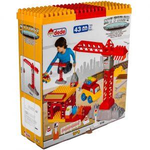 Set kockica - Kran sa gradilištem