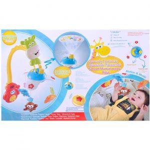 Vrteška projektor za bebe 2