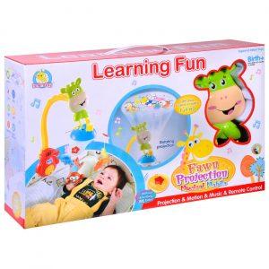 Vrteška projektor za bebe