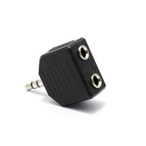 Adapter Aux 3.5mm na 2x 3.5mm