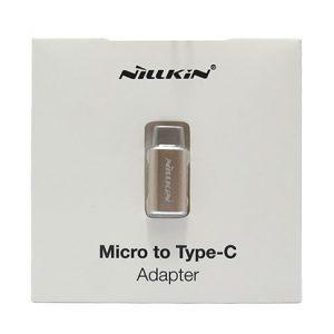 Adapter NILLKIN metalni sa micro na Type C zlatni 2