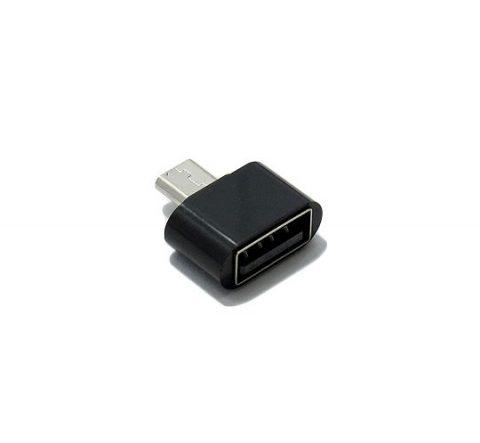 Adapter OTG micro USB NEW crni