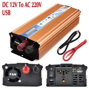 Invertor pretvarač sa 12V na 220V 2000W 1