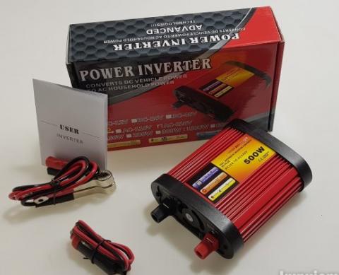 Invertor pretvarač sa 12V na 220V 500W - 2
