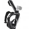 Maska za ronjenje za GoPro L-XL CRNA