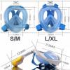Maska za ronjenje za GoPro L-XL CRNA 3