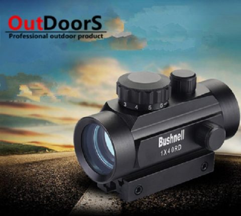 Red Green Dot Bushnell 1 x 40mm_4