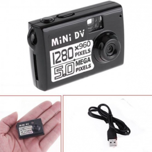 Spijunska Mini DV kamera 5mp- HD Video Recorder-4