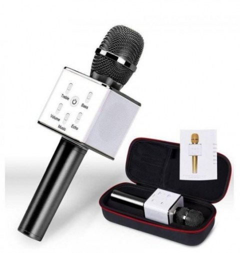 Mikrofon karaoke bluetooth Q7