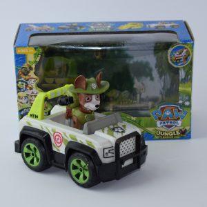 Patrolne sape - Paw Patrol kuca sa vozilom - TRACKER NOVO 2