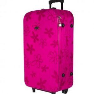 Kofer sa točkićima - roze 40 L 2