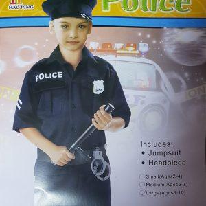 Kostim POLICIJISKI za decake - NOVO 1