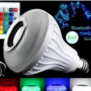 LED Bluetooth Muzička Sijalica-Zvučnik sa daljinskim 2