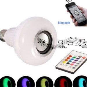 LED Bluetooth Muzička Sijalica-Zvučnik sa daljinskim
