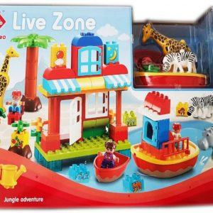 SET Kockica 77 delova - Live Zone JUNGLE ADVENTURE - NOVO 1