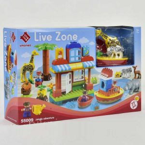 SET Kockica 77 delova - Live Zone JUNGLE ADVENTURE - NOVO 8