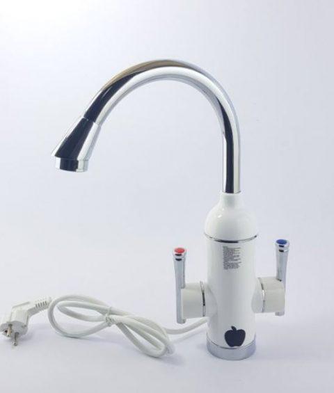 Zidna Slavina i protocni bojler za brzo zagrevanje vode