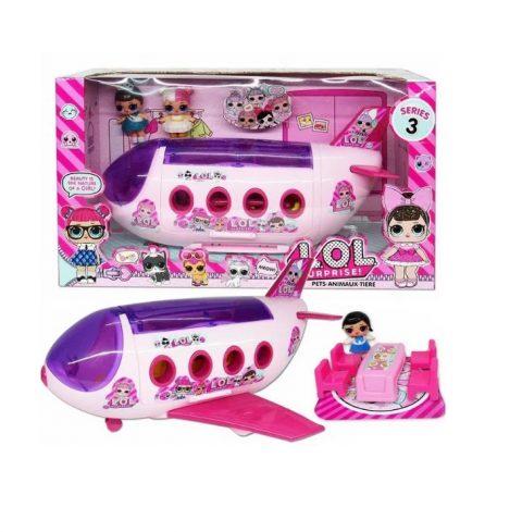 LOL Surprise Avion sa dve lutke i dodacima NOVO 1