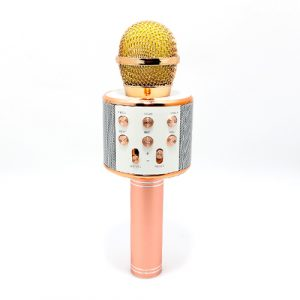 Mikrofon 858 Bluetooth roze 4