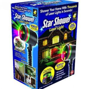 Star Shower Laser Projektor