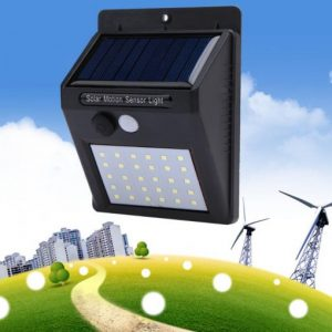 Solarna LED zidna lampa2