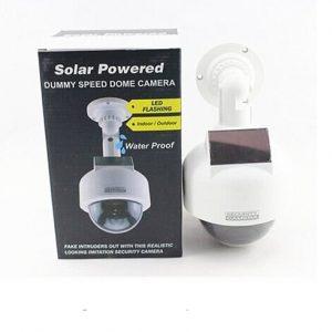 Solarna lazna LED kamera za nadzor 1